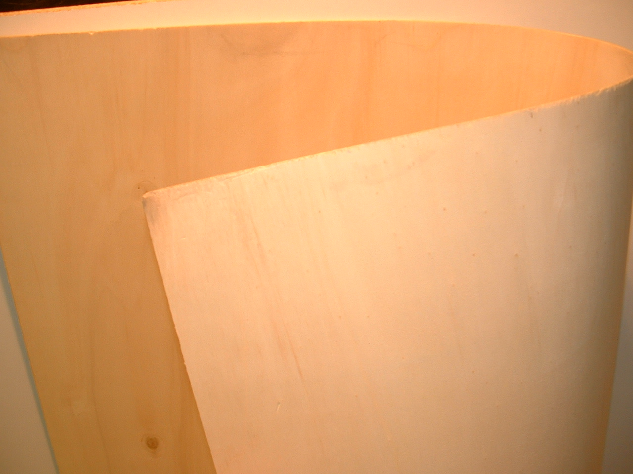 LASER CUTTING PLYWOOD PANELS